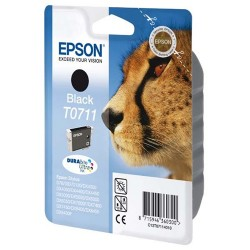 Tintapatron Epson T071140 fekete Gepárd