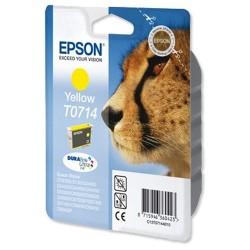 Tintapatron Epson T071440 sárga Gepárd