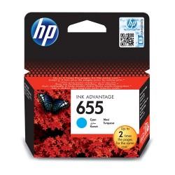 Tintapatron HP CZ110AE No.655 kék