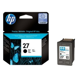 Tintapatron HP C8727A fekete