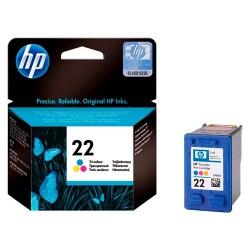 Tintapatron HP C9352A színes HP22