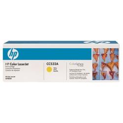 Lézertoner HP CC532A sárga