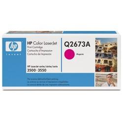 Lézertoner HP Q2673A vörös