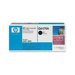 Lézertoner HP Q6470A fekete