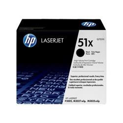 Lézertoner HP Q7551X fekete