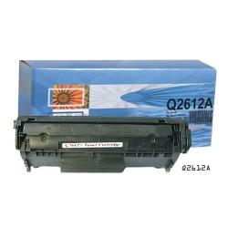 Lézertoner utángyártott HP Q2612A fekete