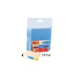 Tintapatron utángyártott Epson T071240 kék