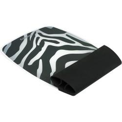 Egéralátét Fellowes szilikonos csuklótámasszal zebracsíkos