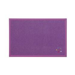 Parafatábla Bi-Office fakeretes 40x60 cm lila