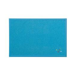 Parafatábla Bi-Office fakeretes 40x60 cm kék