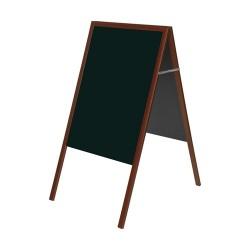 Megállító tábla Bi-Office 45x90 cm krétás