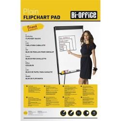 Flipchart papír Bi-Office 65x95 cm 55g 50 ív/csomag sima