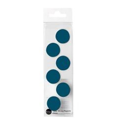 Táblamágnes Bi-Office 20 mm 6 db/csomag kék