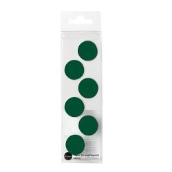 Táblamágnes Bi-Office 20 mm 6 db/csomag zöld