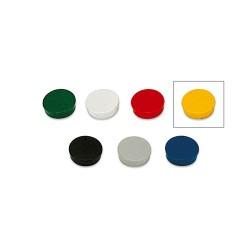 Táblamágnes Bi-Office 30 mm 6 db/csomag sárga