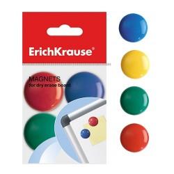 Táblamágnes ErichKrause 30 mm 8 db/csomag vegyes színek