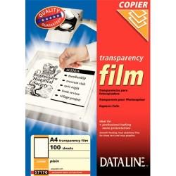 Írásvetítő fólia Esselte Dataline fekete-fehér fénymásolóhoz 100 ív/doboz 57170
