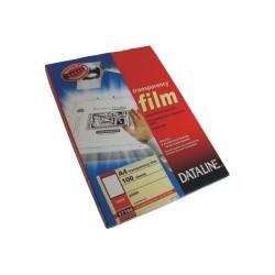 Írásvetítő fólia Esselte Dataline fekete-fehér lézernyomtatóhoz 100 ív/doboz 57166