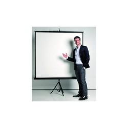 Vetítővászon hordozható Bi-Office 180x180 cm