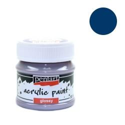 Kreatív akrilfesték Pentart fényes 50 ml kék