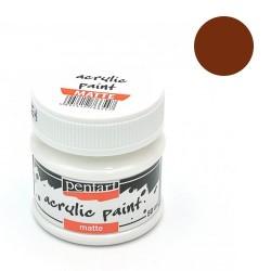Kreatív akrilfesték Pentart matt 50 ml sötét barna 5141