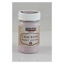 Kreatív repesztőfesték Pentart kettes komponens 100 ml viktóriánus rózsaszín