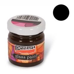 Kreatív üvegfesték Pentart 30 ml fekete