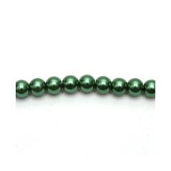 Kreatív viaszgyöngy füzér 4 mm moha zöld