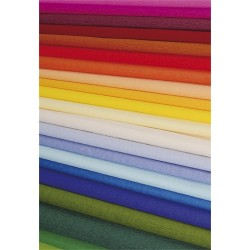 Krepp-papír 200x50 cm barna