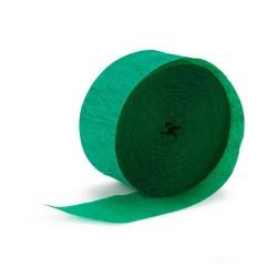 Krepp-papír 200x50 cm sötétzöld