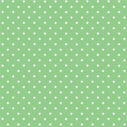 Kreatív öntapadó fólia 45x200 cm zöld alapon fehér pöttyös