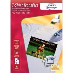 Kreatív vasalható fólia Avery C9405-4 A/4 világos pólóra 4 ív/csomag