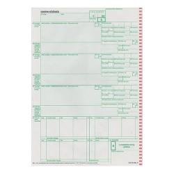 Vámárunyilatkozat behozatali pótlap 3 lapos garn.