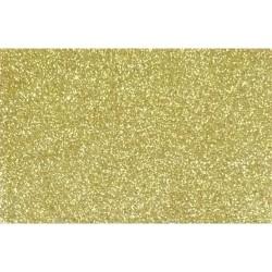 Kreatív dekorgumilap öntapadós 20x30 cm 2 mm arany