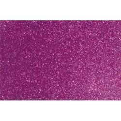 Kreatív dekorgumilap öntapadós 20x30 cm 2 mm glitteres ciklámen