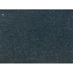 Kreatív dekorgumilap öntapadós 20x30 cm 2 mm glitteres fekete