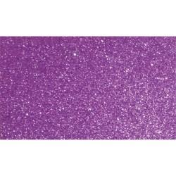 Kreatív dekorgumilap öntapadós 20x30 cm 2 mm glitteres lila