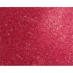 Kreatív dekorgumilap öntapadós 20x30 cm 2 mm glitteres piros