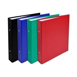 Gyűrűs könyv Exacompta A/5 2 gyűrűs 40 mm gerinccel vegyes színek