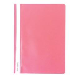 Gyorsfűző PP pd A/4 rózsaszín