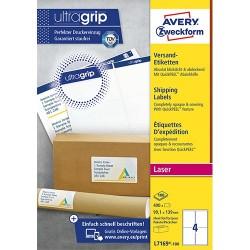Etikett címke Avery 99,1x139 mm nagyfedőképességű fehér
