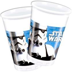 Pohár műanyag 200 ml, műanyag Star Wars