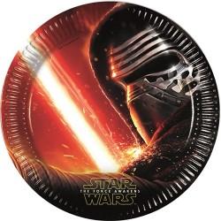 Tányér papír 23 cm Star Wars 7