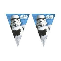 Kreatív zászló műanyag 2,3 m 9 zászlóval Star Wars