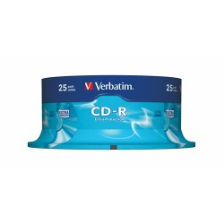 CD-R Verbatim 700 MB 52x DataLifePlus 25 db hengeres tok