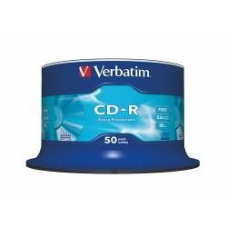 CD-R Verbatim 700 MB 52x DataLifePlus 50 db hengeres tok
