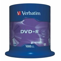 DVD-R Verbatim 4.7 GB 16x Azo 100 db hengeres tok