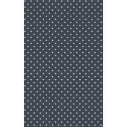 Kreatív öntapadó fólia 45x200 cm szürke csillagos