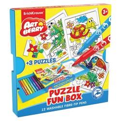 Színezhető puzzle ErichKrause Artberry