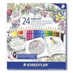 Színes ceruza Staedtler Ergo Soft 24 db-os klt. JB
